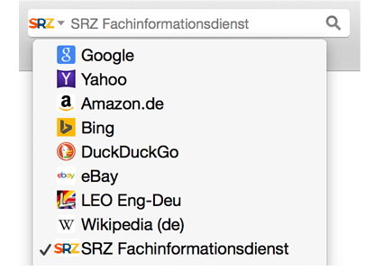 SRZ Fachinformationsdienst OpenSearch